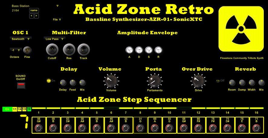 Acid Zone Retro 3