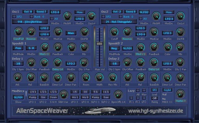 Alien Space Weaver 3