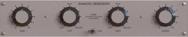 Analog Obsession TuPRE