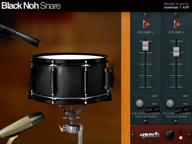 Black Noh Snare 3