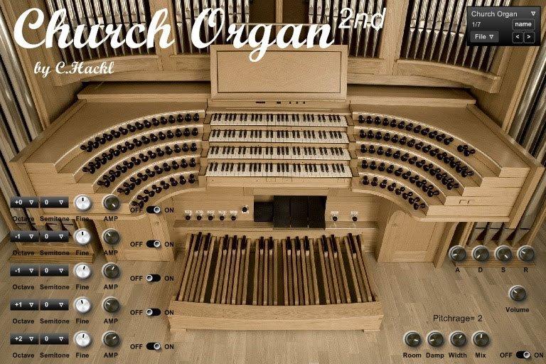 Church Organ 3