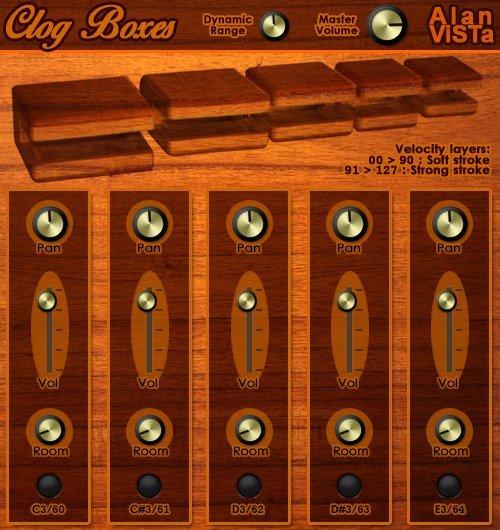 ClogBoxes Woodblocks 3