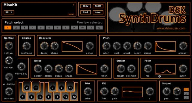 DSK SynthDrums 3