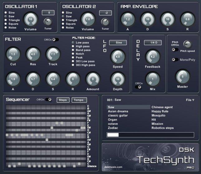 DSK TechSynth 3