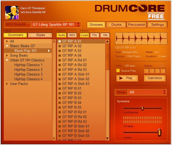 DrumCore Free 3