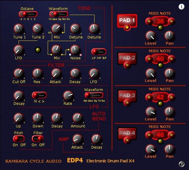 EDP4 EDRUM 3