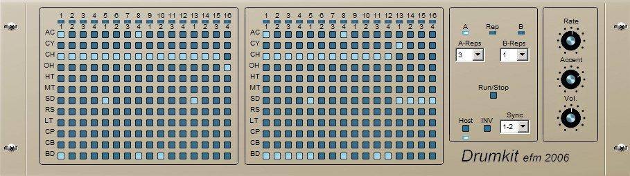 EFM DrumKit 3