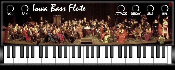 Iowa Bass Flute 3
