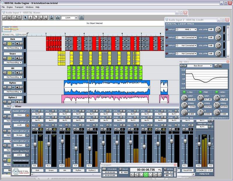 KristalAudioEngine 3