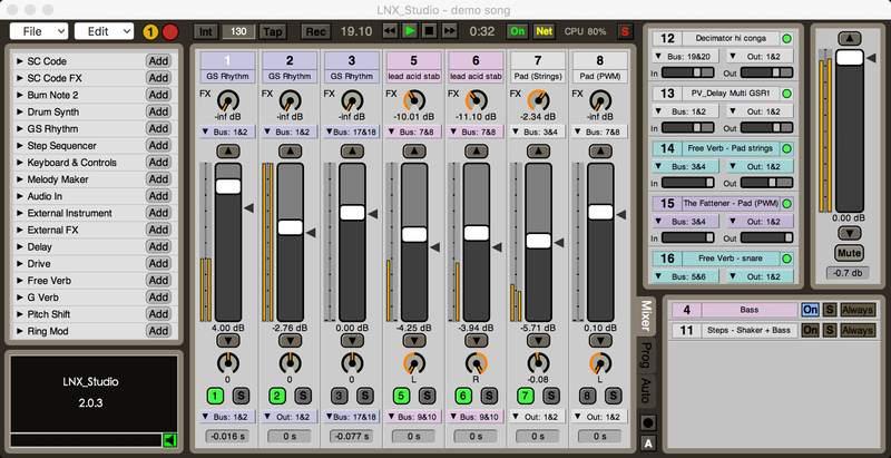 LNX Studio v2.0