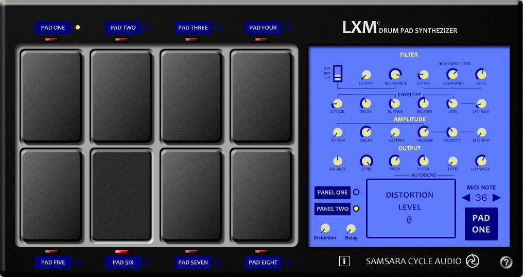 LXM Drum Pad 3