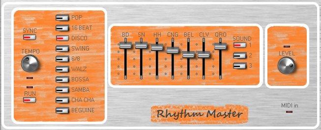 Meesha Rhythm Master 3