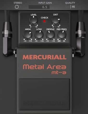 Metal Area MT A