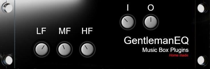 Music Box Plugins Gentleman EQ