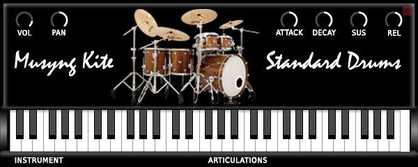 Musyng Kite Standard Drums 3