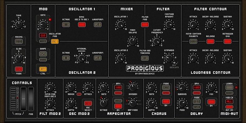 Prodigious Synthesizer 3