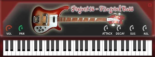 Project16 Fingered Bass 3