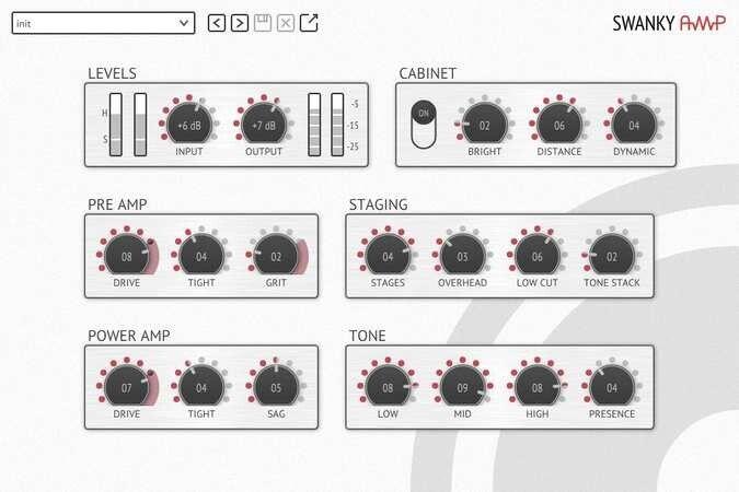 Resonant DSP Swanky Amp