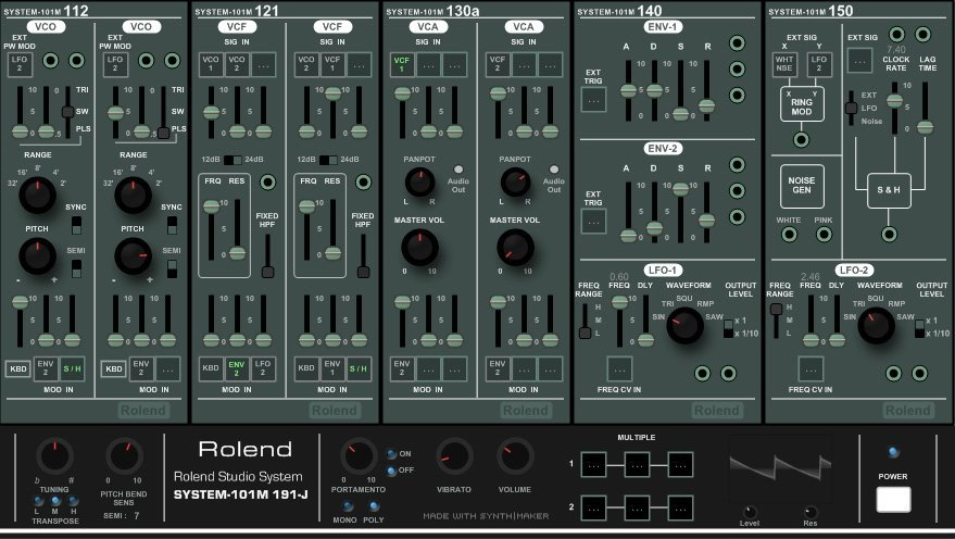 Rolend System 101 M 3