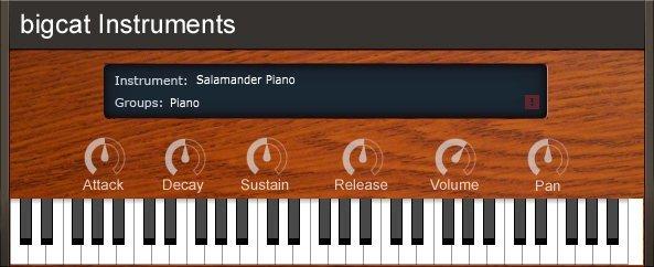 Salamander Piano 3