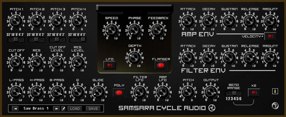 SamsaraCycleAudio SAW 3