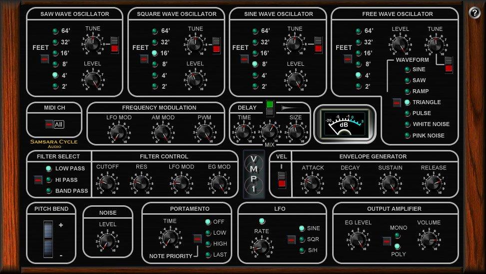 SamsaraCycleAudio VMP1 3