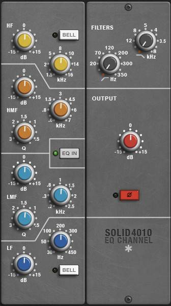 Solid4010 vst eq