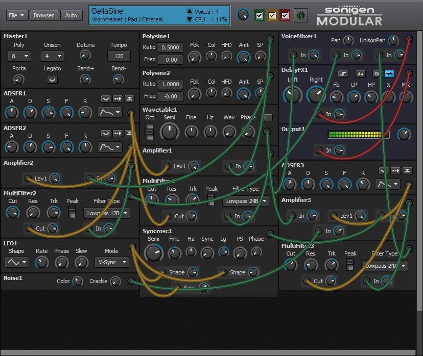 Sonigen Modular 3