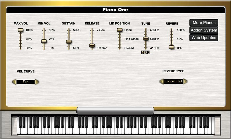 SoundMagic PianoOne 3