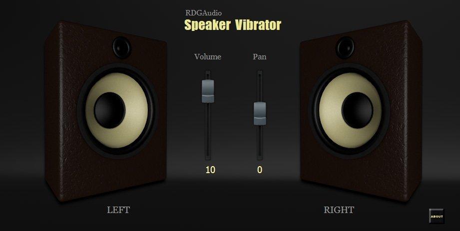 Speaker Vibrator 3