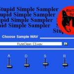 StupidSimpleSampler 2
