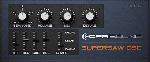 Supersaw OSC 3