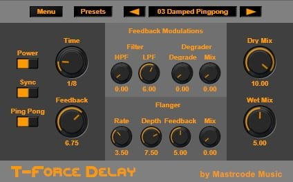 T Force Delay 2
