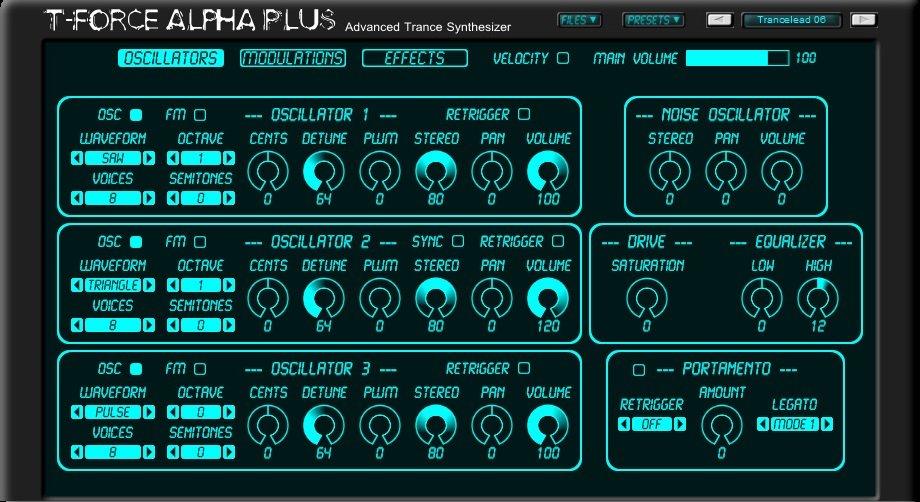 T Force Alpha Plus 3