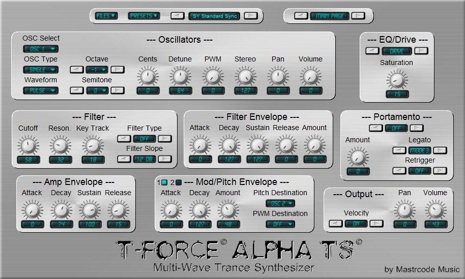 T Force Alpha TS 3