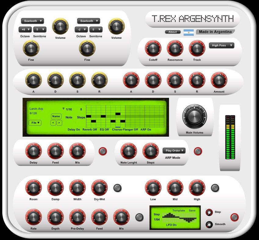 TRex ArgenSynth 3