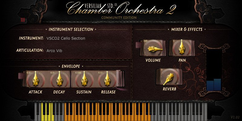 VSCO Cello Section 3