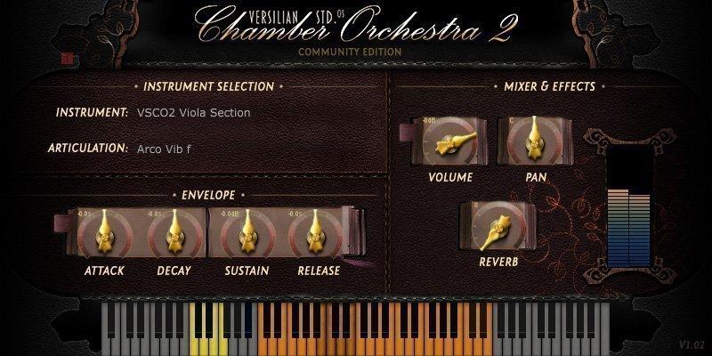 VSCO Viola Section 3