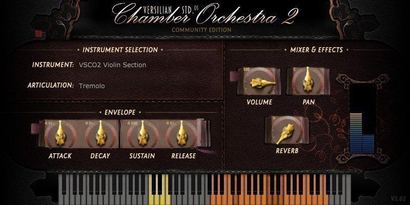 VSCO Violin Section 3