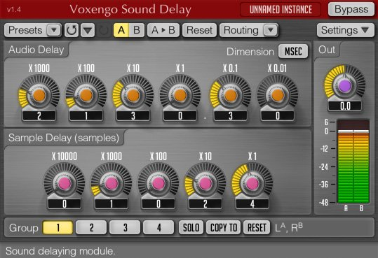 Voxengo Sound Delay 3