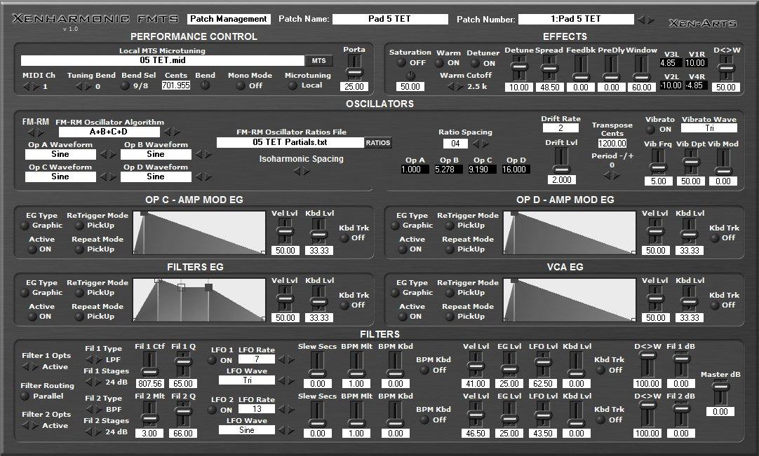 Xenharmonic FMTS 3
