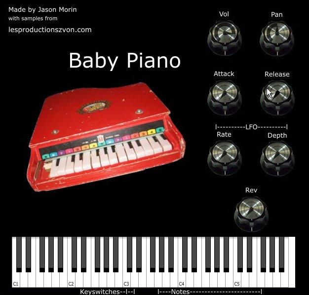 Zvon Baby Piano 3