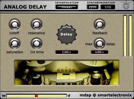 analog delay 2