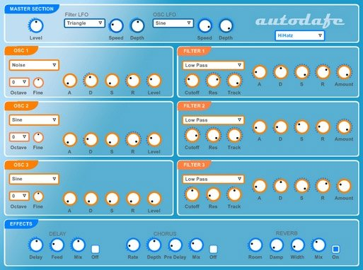 autodafe Synth 3