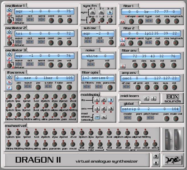 dragon II 3