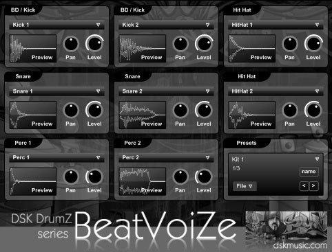 dsk drumz beatvoize3