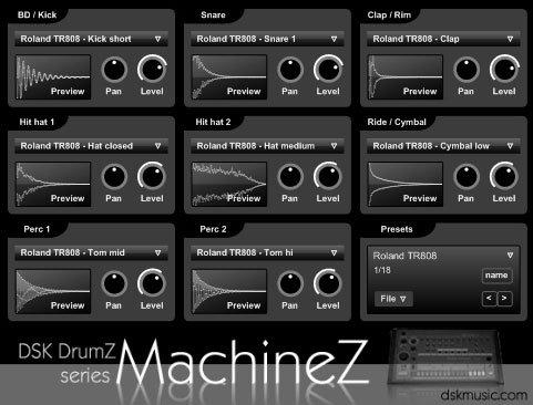 dsk drumz machinez3