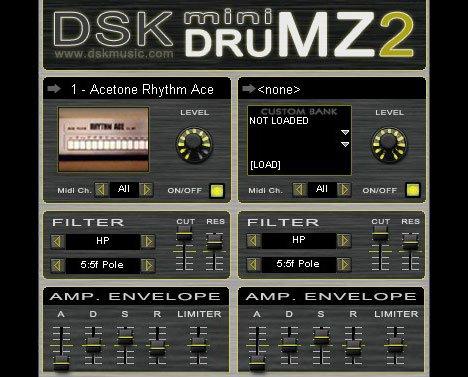 dsk mini drumz2 2