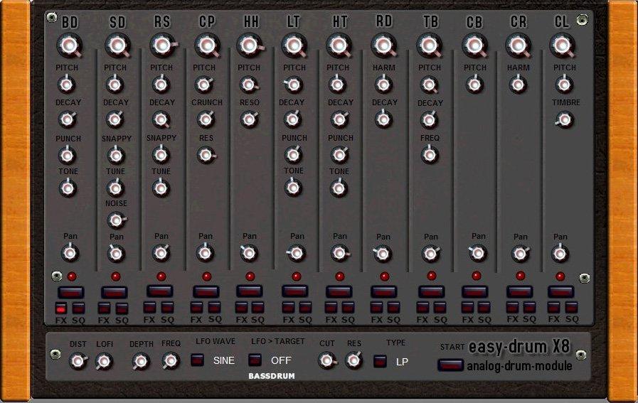 easy drum X83