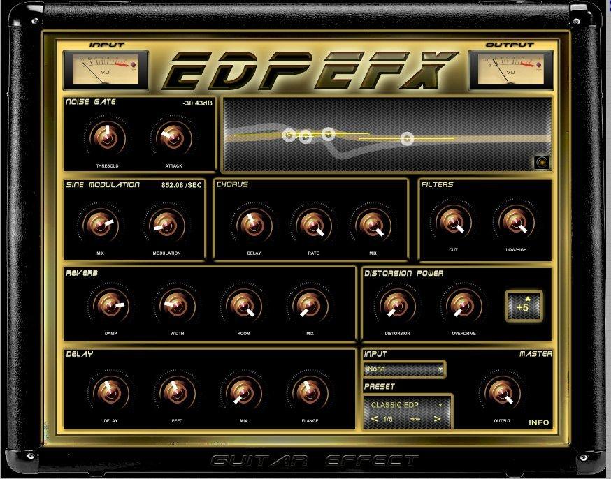edpefx vst guitar effect